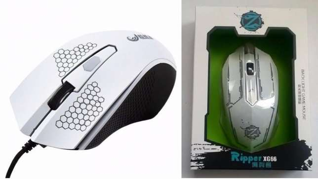 Ripper Gaming mouse wit led lighting Mombasa Island - image 2