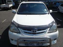 2010 Toyota Avanza 1.5 Tx For R110,000