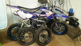 Track and off road pit bike