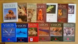 13 A Vision animal books. R200 for the lot. All books are hard cover.