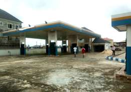 Newly built Filling Station wit 8 pumps FOR SALE/ LEASE at Eliozu PH.