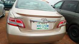 Gold Toyota Camry 2010