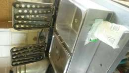 Fish fryer double basin good condition