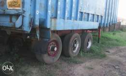 Foreign use triple axle trailer bucket for sale for N5m