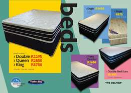 Quality Beds (Single,3/4, Double, Queen, King Beds)