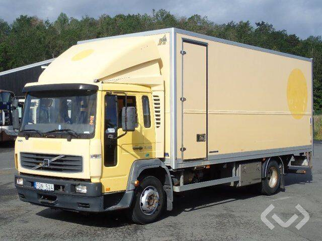 Volvo FL614 H (export only) 4x2 Box (tail lift) - 06 - 2019