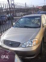 Super clean Lagos cleared TOKUMBOR toyota corolla 03 at away price