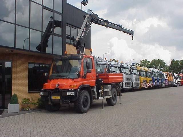 Mercedes-Benz Unimog 405/kran/kraan/crane/grua - 2011