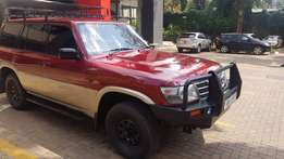 Nissan patrol excellent diesel engine performance.Takes you anywhere
