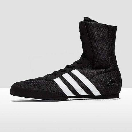 Buty bokserskie do boksu Adidas Box Hog 2 czarne NOWE