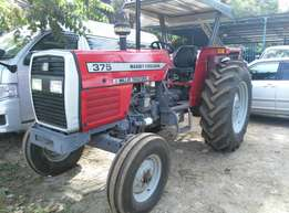 New Massey Ferguson Tractor MF375,75Horse Power, Weights,Warranty