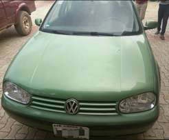 Clean Less than A Year used Golf 4