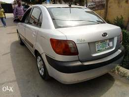 Clean and neat kia Rio 2008