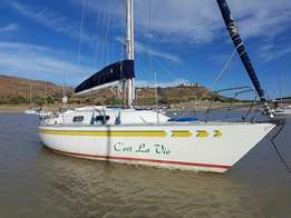 "Muira 31"" sailboat"