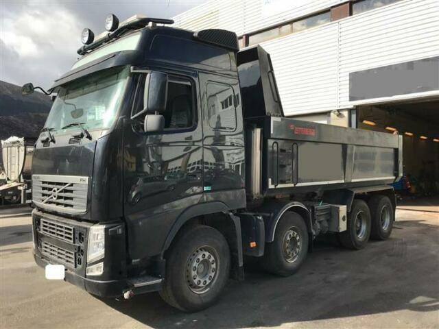 Volvo FH500 SOON EXPECTED 8X4 MANUAL FULL STEEL RE - 2012