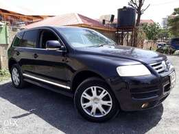 Touareg Vw very well managed never had an accident
