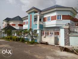 4bedroom detached duplex with 2rooms BQ to let in an estate at Kaura