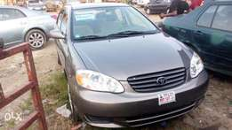 A very clean title 02/03 model Toyota corolla