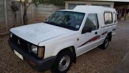 colt 1.6 petrol bakkie with canopy
