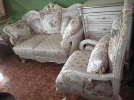 Fabric Royal Sofa chairs by 7 seaters