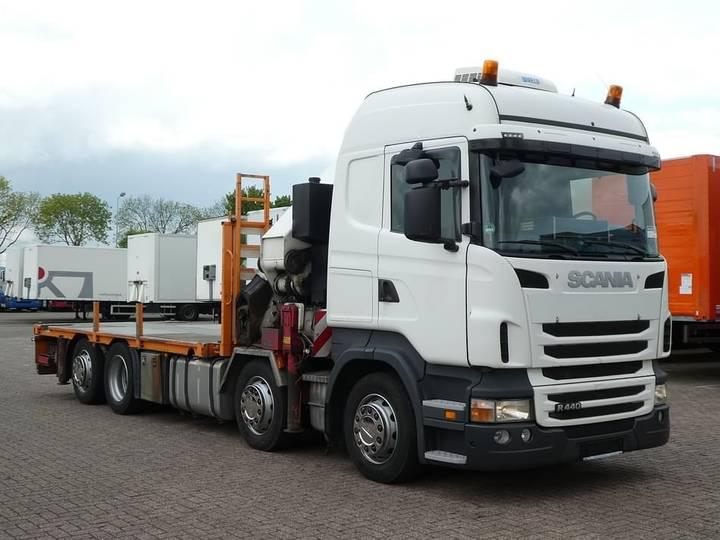 Scania R440 8x2*6 e5 hmf odin k6 - 2010