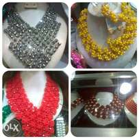 Quality Coral/Crystal Beads