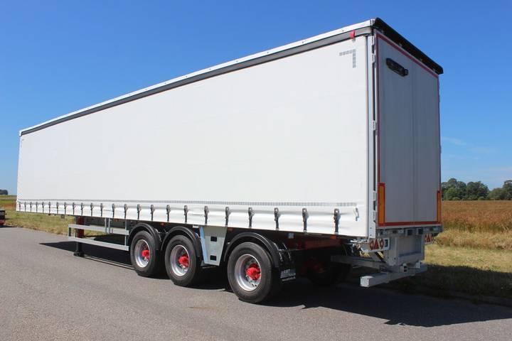 AMT New  CI310 3  curtain side semi-trailer