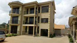 executive two bedroom apartment house for rent in kyaliwajara at 600k