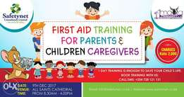 First Aid Training for Parents & Children Caregivers