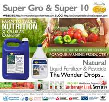 Super Gro Liquid Fertilizer & Super 10 Liquid