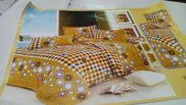 Duvet,bedsheet and 2 pillow cases