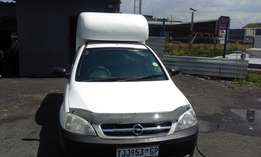 Opel Corsa Bakkie 1.4 Colour White Model 2007 3 Door Factory A/C&CD Pl