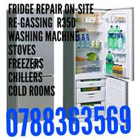 Fridge repair on site