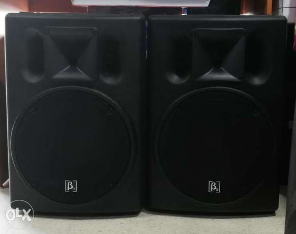 2 speaker beta 3 original 15 inch passive jded