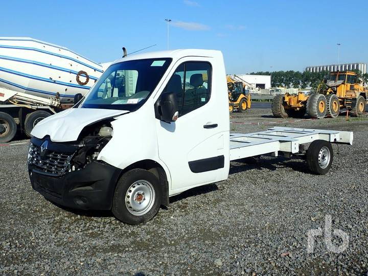 Renault MASTER Cab & Chassis - 2017