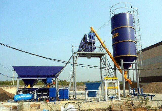 ZZBO betonnyy zavod skip-15 (15 m3 v chas)  skip concrete plant