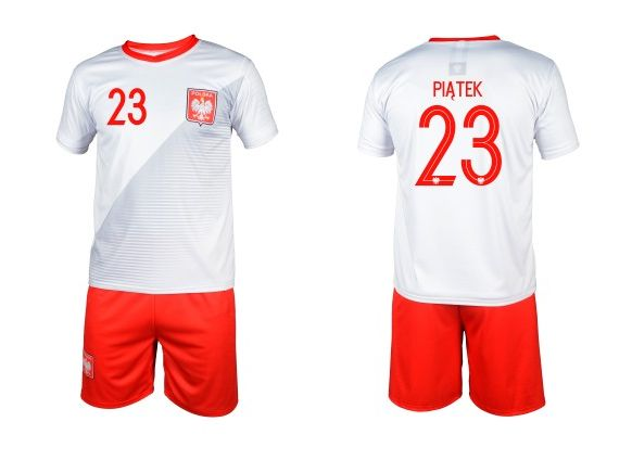 59c03c180 HIT PIĄTEK strój kibica koszulka piłkarska spodenki getry LEWANDOWSKI Ruda  Śląska - image 1