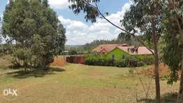 Land for sale -1/8th plot in Kikuyu lusigetti 100meters from tarmac