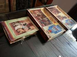 3 Very old Ambassador jig saw puzzles 800 pieces