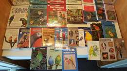 Parrot books for sale...