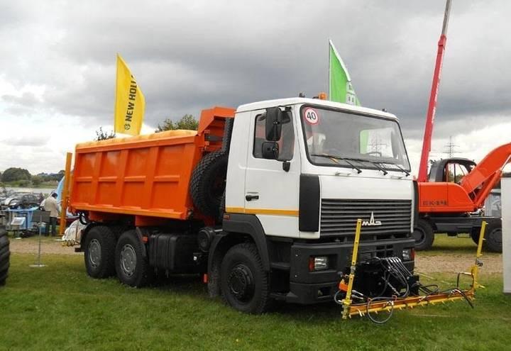 Maz 5516 Поливомоечное оборудование высокого давления - 2017