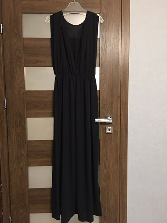 005c6e56 H&M piękna wieczorowa sukienka 36 S 38 M zara lipsy Asos Maxi dress  Tarnobrzeg - image