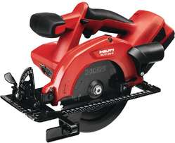 Hilti cordless hand-held circular saw for sale at a bargain price