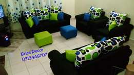 7 seater with 2 puffs latest design