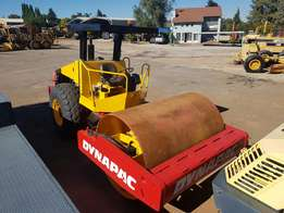 2007 Dynapac CA280D Smooth Drum Roller