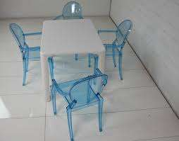 Multi-Color Ghost chairs and table for kids and adult for sale