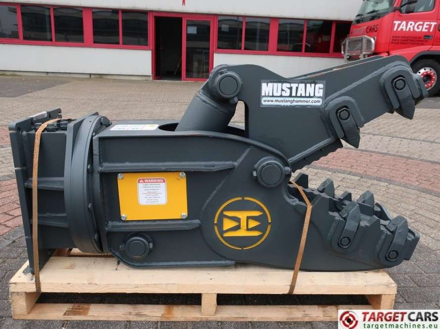 Mustang RH05 Hydr.Rotation Pulverizer Crusher Shear 5~12T