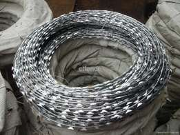 Razor barbed wire (galvanized)