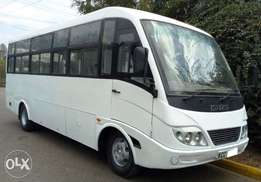 Isuzu 33 seater Bus. Immaculate condition. Low mileage 2014 4.1M