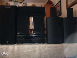 Top of the range home theater system